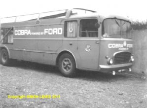 COBRA team transporter at AC works 1965. Amateur photo (c)